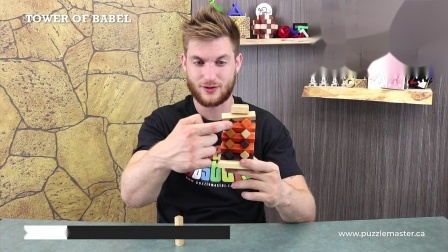 Tower of Babel from Puzzle Master - Review