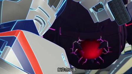 跳跃战士:大佬安德烈挡下岩怪攻击,被吞下的机甲陷入梦境!
