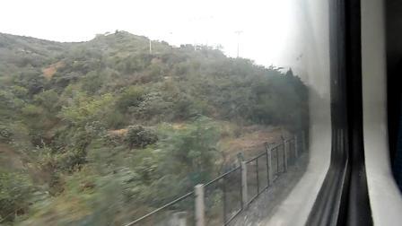 襄渝铁路5-列车K206次成都至青岛【驻马店游者】