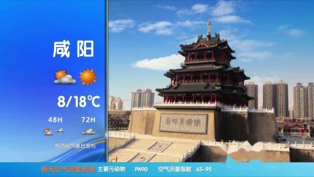 2019年10月29日陕西天气预报