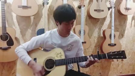 精彩的指弹吉他改编《牛仔很忙》