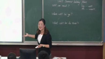 译林版小学英语六年级下册Unit 7 Summer holiday plans夏老师优质公开课教学视频(配课件教案)
