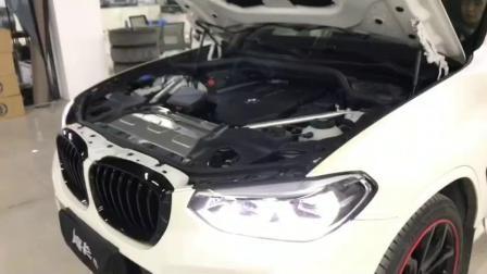 新款宝马X4改装HKs泄压阀视频实拍,重庆魔卡改装出品