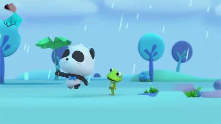 """我在05 小动物们的""""伞""""截了一段小视频"""