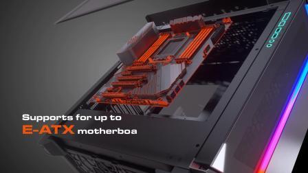 COUGAR 骨伽 DarkBlader-G RGB 全塔机箱