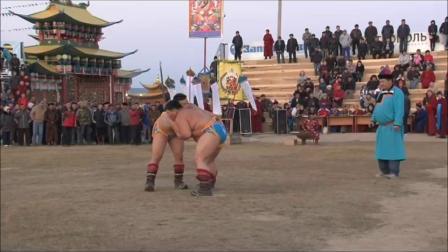 【体育】蒙古柔道运动员 Tuvshinbayar Naidan 摔跤比赛2011