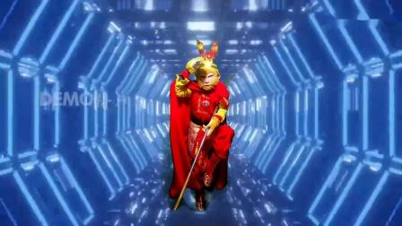 北京中央电视台录制节目美猴王