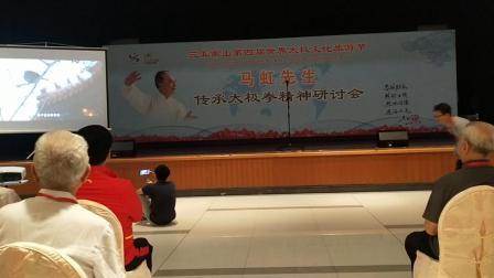 (一)马虹先生传承太极拳精神研讨会_三亚南山第四届世界太极文化旅游节