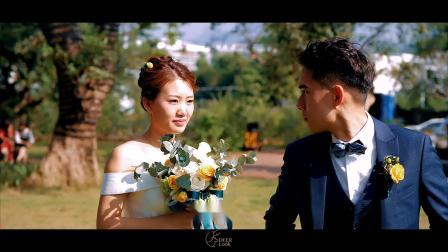《如果我一首歌》DeerLook 笛鹿电影 李长青&李静 户外草坪婚礼