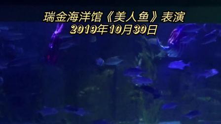 瑞金九丰海洋馆《美人鱼》表演 2019年10月30日