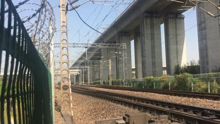 沪昆线 K751次通过杭州枢纽盈宁站
