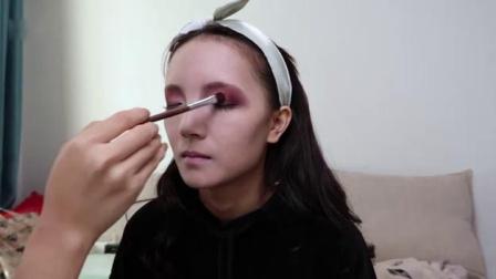 """为万圣节创作一个""""吸血鬼""""妆容视频"""