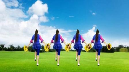 焦陂百和原创《中国梦》32步正背面附教学花球舞