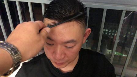 海口郑州男士发块短真发服务上门粘贴定做制新乡安阳滑县抖音假发