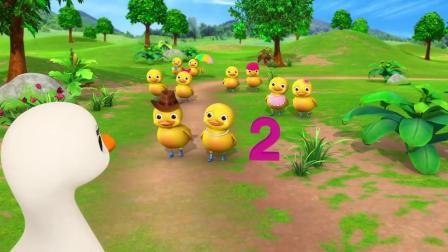 动画,十只小宝宝的脚-小宝宝的屁股卡通和儿童歌曲