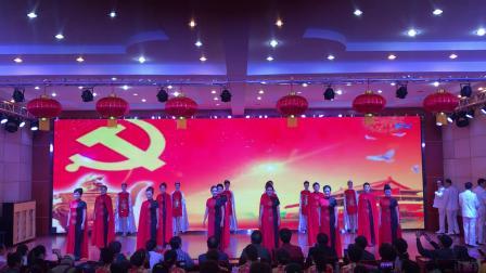"""""""礼赞新中国   奋进新时代""""文艺展演祝福时装舞蹈队表演《我爱你中国》💃🏻💃🏻"""