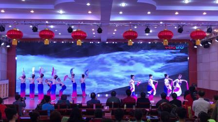 """雅安西康码头队表演《我的祖国》""""礼赞新中国   奋进新时代""""文艺展演🌺🌸"""