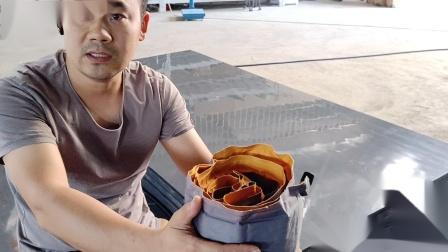 自动充气垫  收纳方法