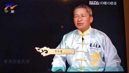 宁夏卫视讲练杨氏青萍剑