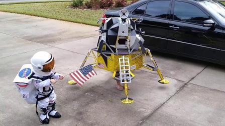 Lunar Module CostumeBig Sis Lunar Lander
