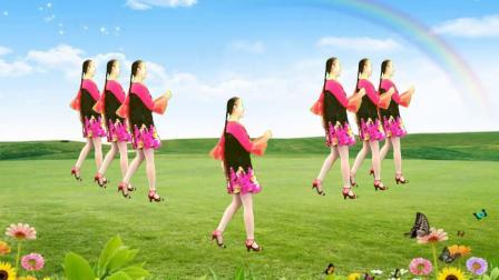 焦陂百和原创《我和草原一起来唱歌》32步正背面附教学