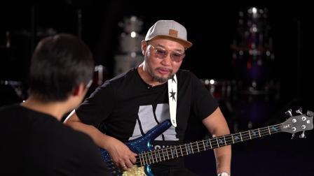 鼓语者 第45期 著名贝司手音乐人-张岭的分享