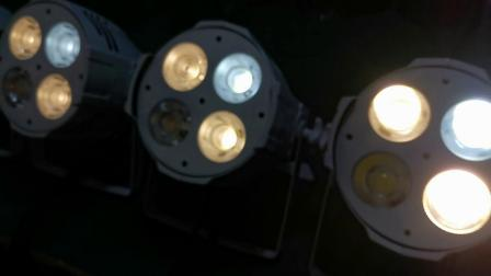66台佳诺灯光4x50W四眼LED面光灯