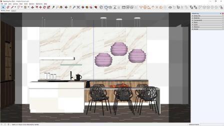V-Ray Next for SketchUp – 自适应穹顶灯光