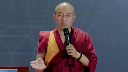 索达吉堪布:《善心厚德--佛教财富观与传播》问答(中国传媒大学)