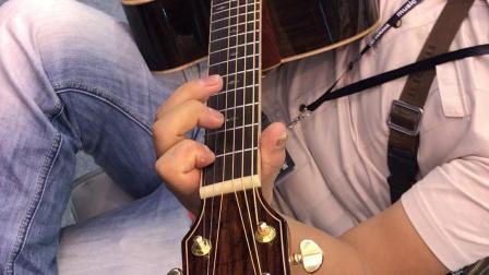 2018年金雀吉他上海国际乐器展 客户试琴片段