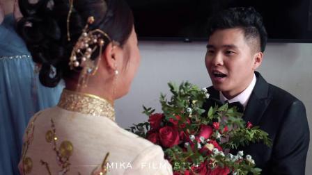 米卡印象视频工作室婚礼快剪:《黄绍钱.郭也妮》名豪君悦宴会中心