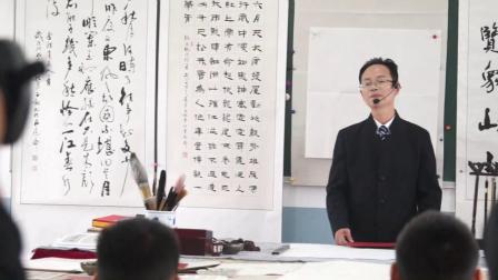 央视逐梦年代节目组华德博才书法课纪实1