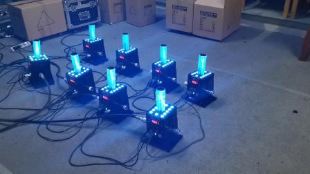 二氧化碳LED气柱烟机 (佳诺灯光出品)
