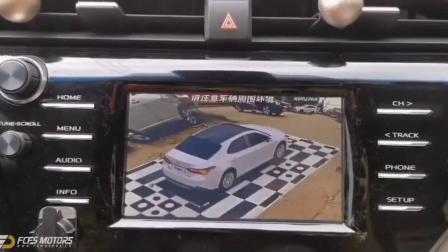 【3D全景360】改装锋程车改又一台全新丰田凯美瑞无损升级3D全景