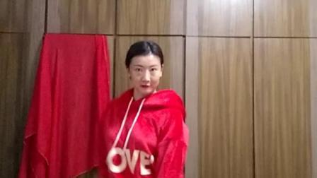 孙艺真舞蹈 火舞