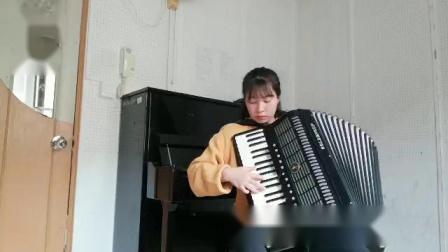 成人组  010《在巴黎的天空下》深圳南山杯手风琴网络大赛