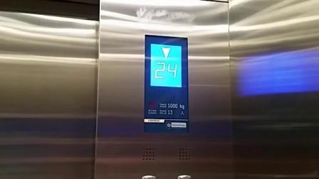 东佳大厦电梯2