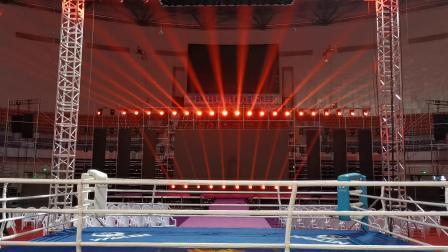 拳击争霸赛灯光秀