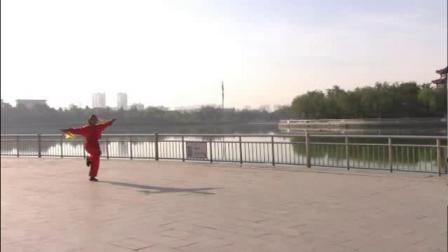 大六合武术表演(南湖公园)