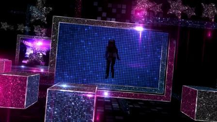 048 舞曲LED舞台背景