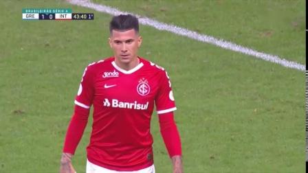 巴西全国甲级联赛第三十轮格雷米奥2:0国际