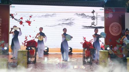 """丽江汉服文化节展演歌舞""""太湖美""""。"""