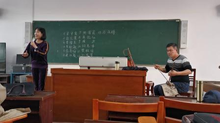 黄山戏剧协会会长朱迎红清唱程派名段《锁麟囊》选段:春秋亭外风雨暴……
