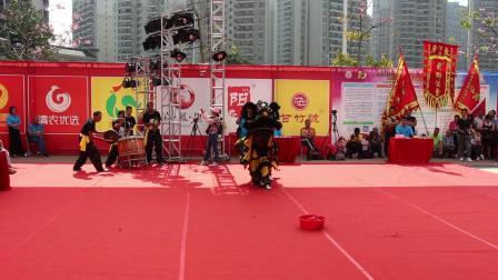 2019年清远市第一届狮王争霸赛  传统狮6  MVI_6267