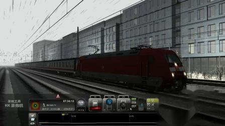 2010模拟火车2013高中历史-刘胜的DB101型电力机车牵引的旅客列车开往西面的道路因大雪阻塞