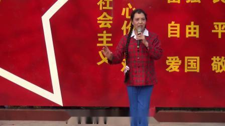 豫剧《朝阳沟》王香彩表演祖国的大建设一日千里 南阳市荣玉梨园庆祝建国70周年豫剧专场