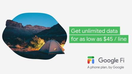 Google Fi: If a Couple of Campers made a phone pla