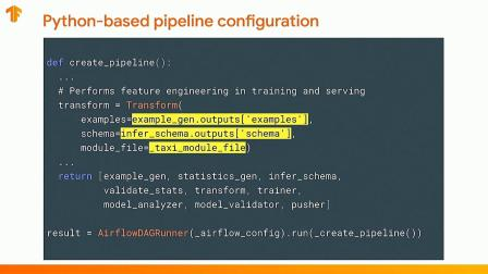 TFX: Production ML Pipelines with TensorFlow (TF W