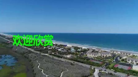 航拍美国佛罗里达州圣奥古斯丁89331350P