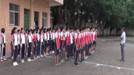 18-19学年第二学期高二级体育科《乒乓球耐力跑》阳春市第三中学刘舜